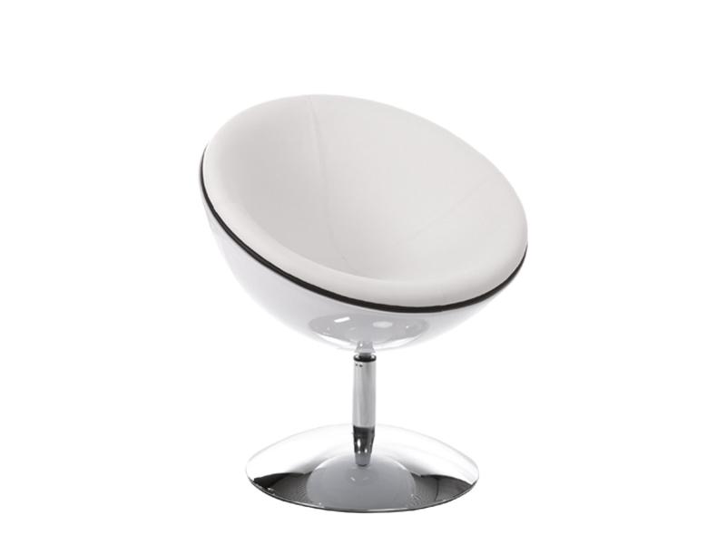Sphere kreslo biele